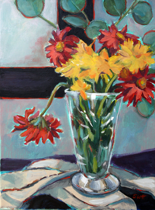 "Mary Kolada Scott ""One Loose Bloom"""